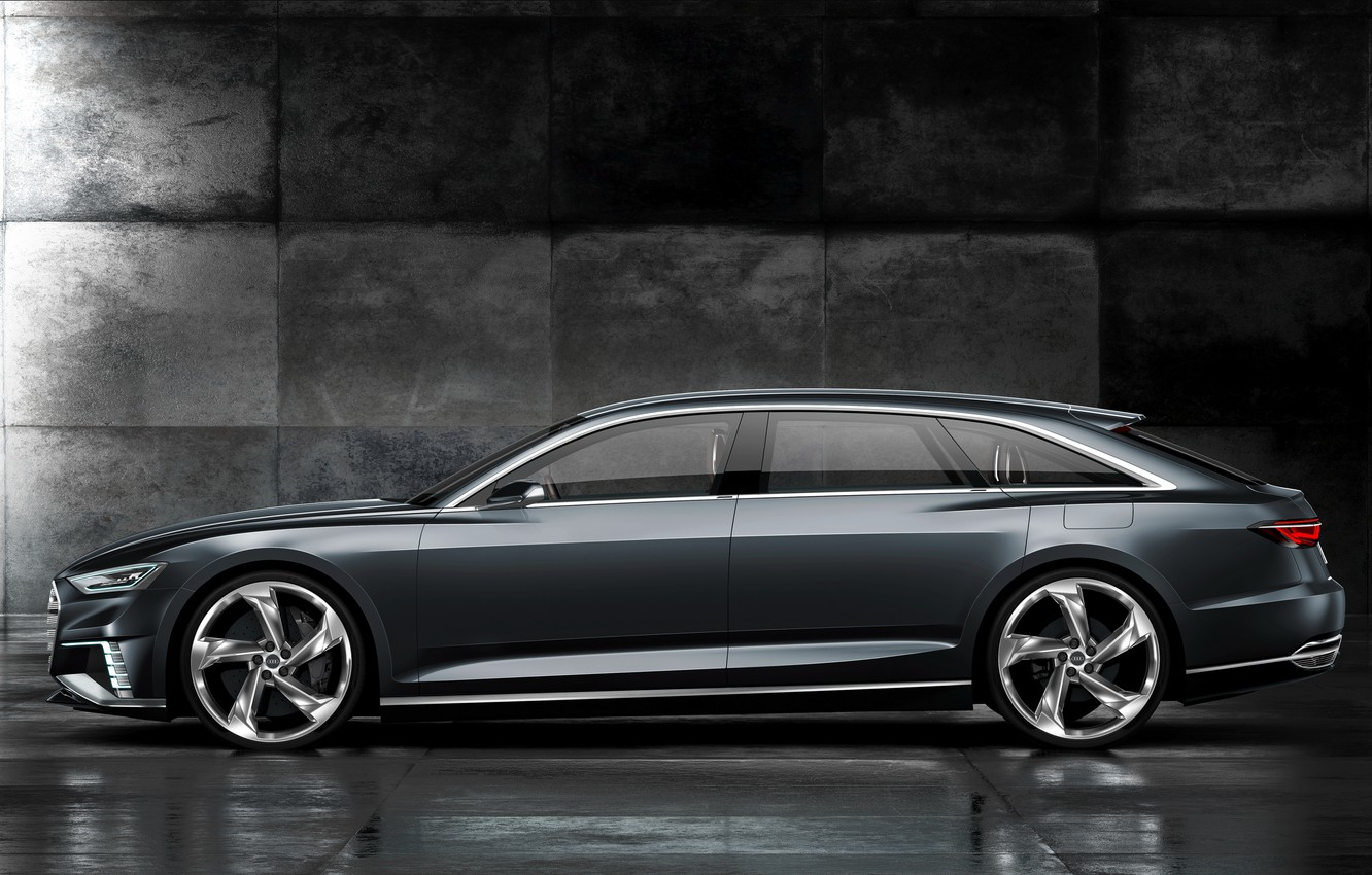 Photo wallpaper Concept, Audi, universal, in profile, Before, 2015, Prologue
