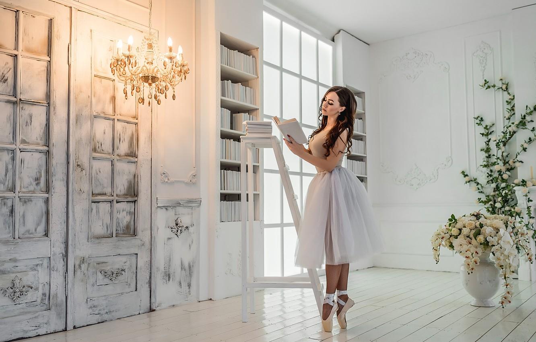 Photo wallpaper dance, ballet, Pretty, A Diakov George