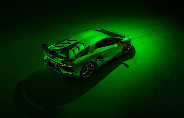 Photo wallpaper Lamborghini, supercar, 2018, Aventador, SVJ, Aventador SVJ