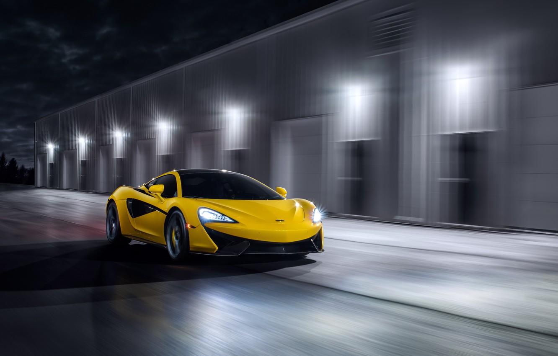 Photo wallpaper McLaren, speed, supercar, MSO, 570S, by Jimmy Zhang