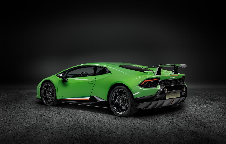 Photo wallpaper Lamborghini, supercar, side view, Performante, Huracan