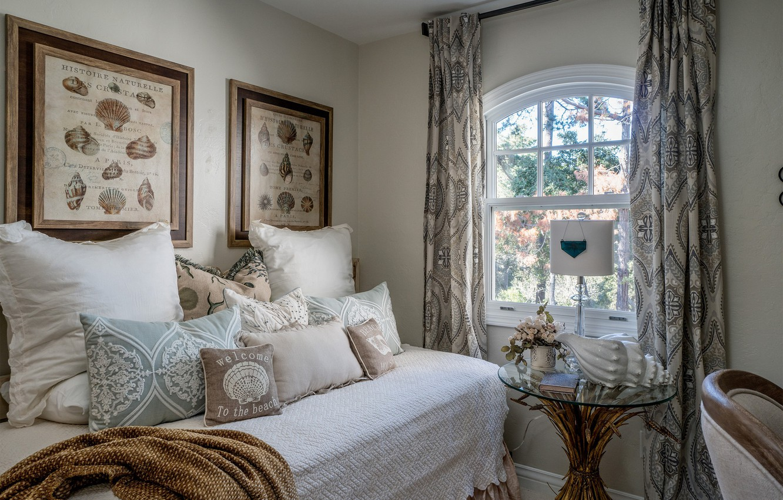 Photo wallpaper bed, pillow, window, bedroom
