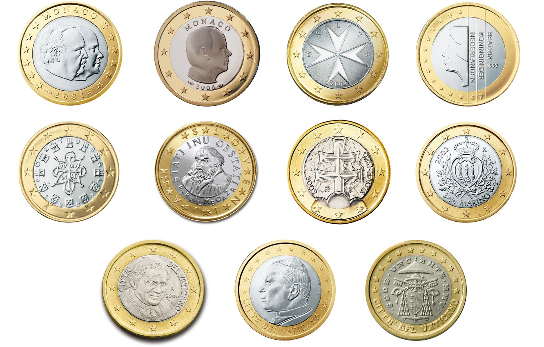 Photo wallpaper money, coin, collection