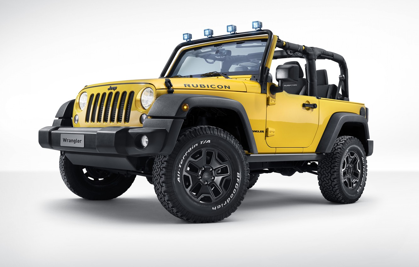 Photo wallpaper Jeep, Jeep, Jeep Wrangler Rubicon