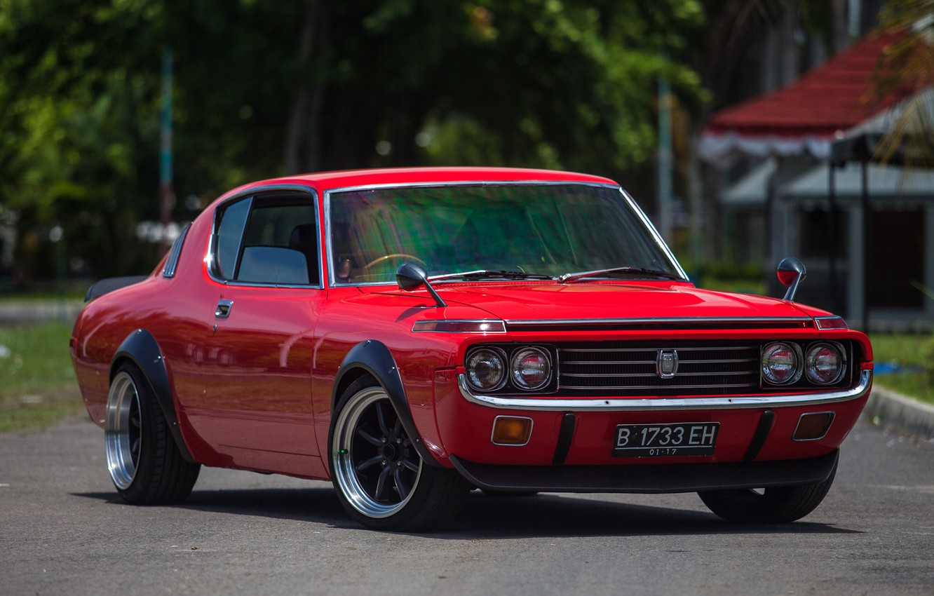 Photo wallpaper Toyota, coupe, crown