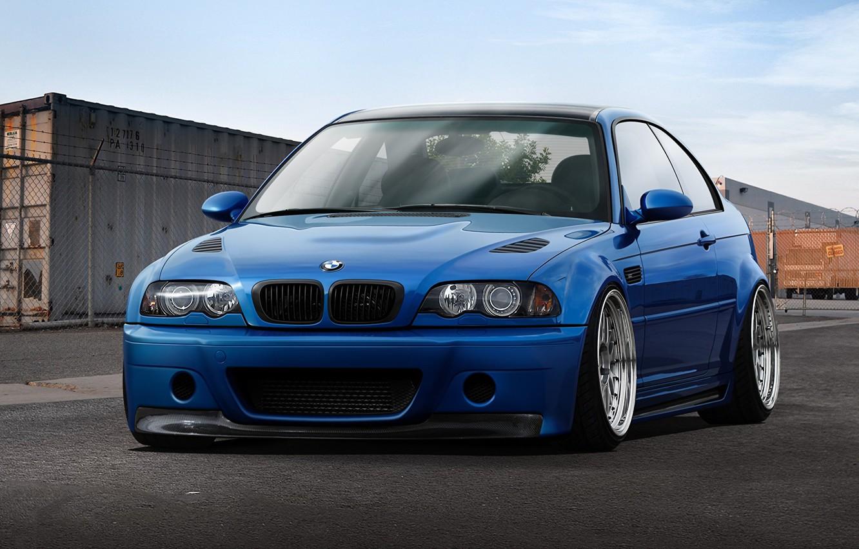 Photo wallpaper BMW, E46, 3-Series, m3