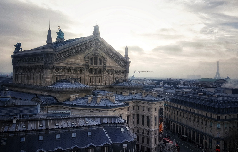 Photo wallpaper the city, Paris, architecture