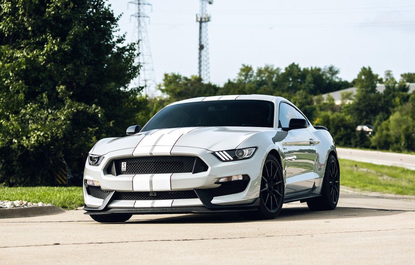 Photo wallpaper Mustang, Ford, Shelby, GT350