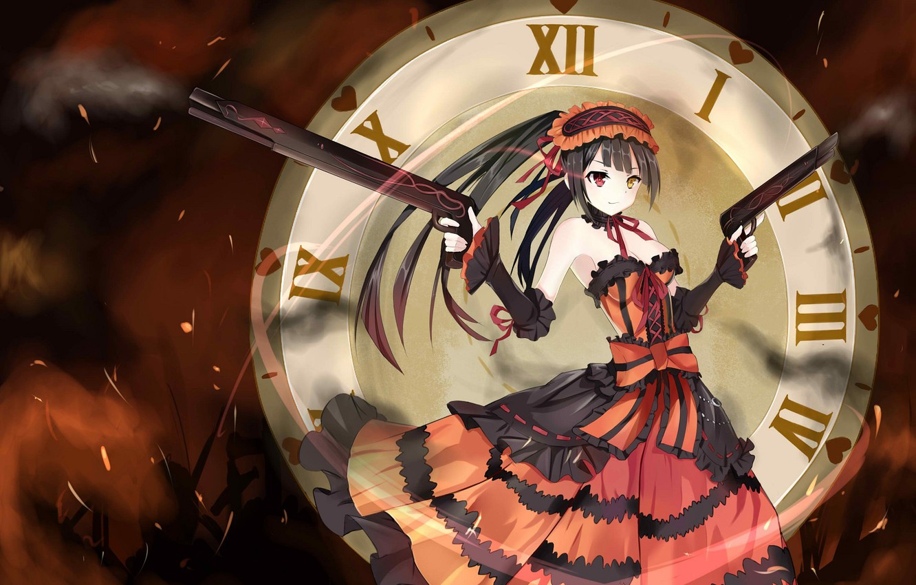 Wallpaper Girl Weapons Watch Date A Live Date A Live Images For