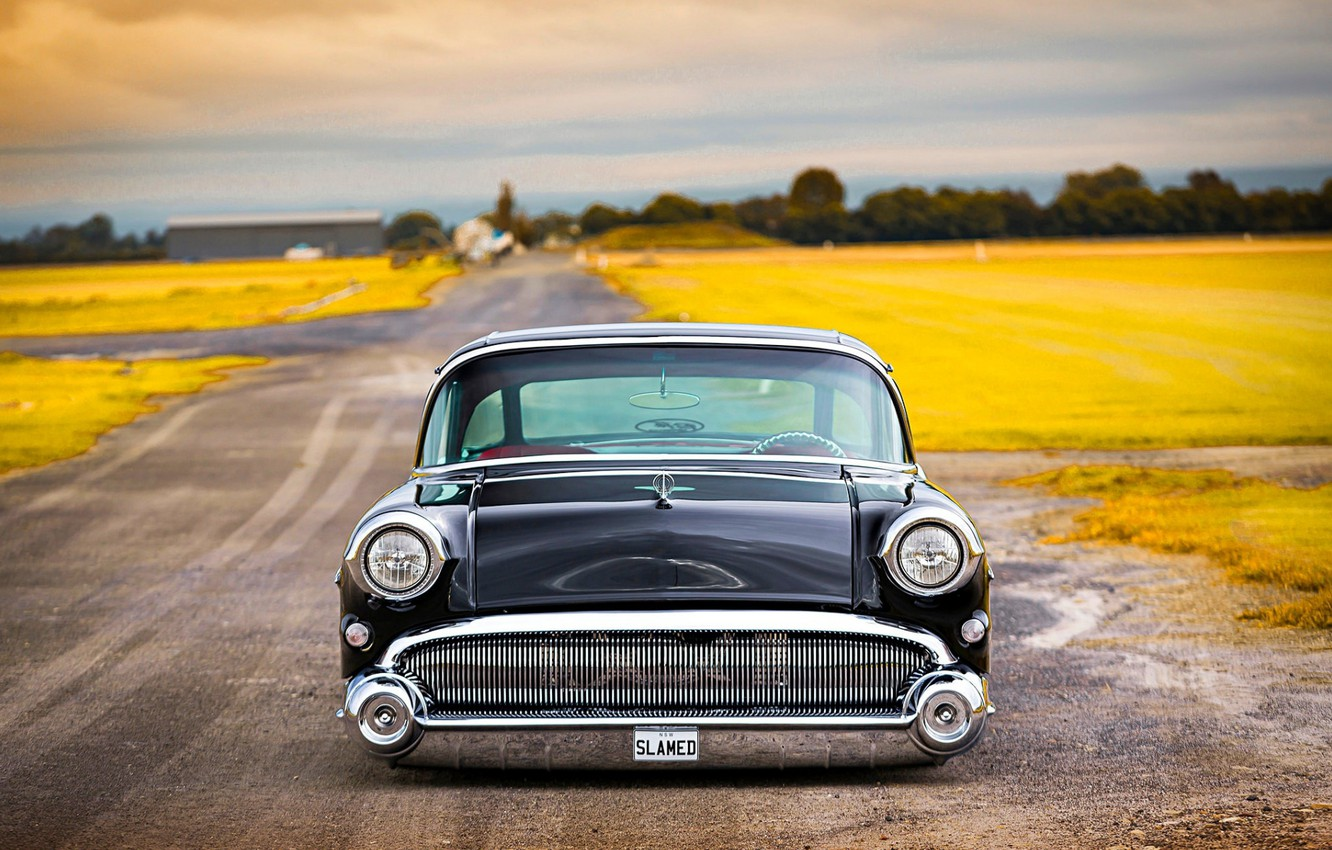Photo wallpaper Car, Classic, Old, Buick, Low