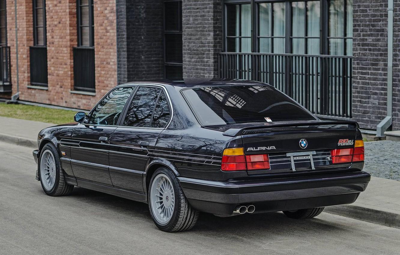 Photo wallpaper BMW, E34, ALPINA, B10, BITURBO