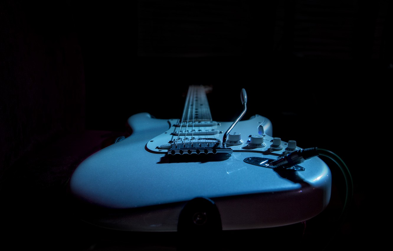 Photo wallpaper music, guitar, Fender, electric guitar, Kide &JC, intimate light