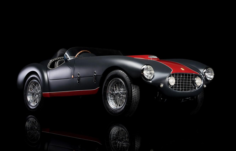 Photo wallpaper Ferrari, 1953, Classic, Classic car, Sports car, Ferrari 166, Ferrari 166 MM/53 Spyder
