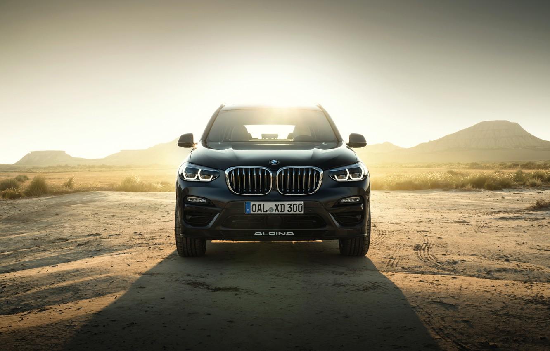 Photo wallpaper 2018, crossover, Alpina, XD3, BMW X3, All-wheel drive