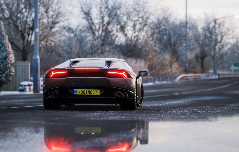 Wallpaper Lamborghini Microsoft Game 2018 Huracan Forza