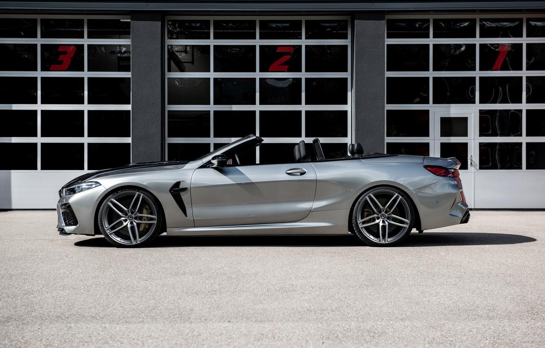 Photo wallpaper BMW, convertible, G-Power, in profile, two-door, Bi-Turbo, 2020, BMW M8, M8, F91, M8 Convertible, G8M, …