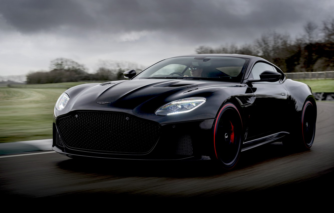 Photo wallpaper Aston Martin, DBS, Superleggera, 2019, TAG Heuer Edition