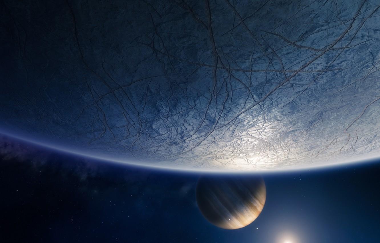 Photo wallpaper Planet, Space, Europe, Bungie, Destiny, Destiny 2