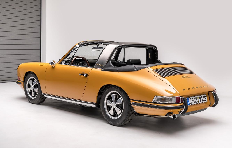 Photo wallpaper Porsche, Classic, Porsche 911, 1968, Classic car, Targa, Porsche 911 S 2.0 Targa Sportomatic