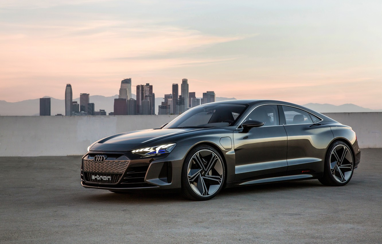 Photo wallpaper Audi, 2018, e-tron GT Concept