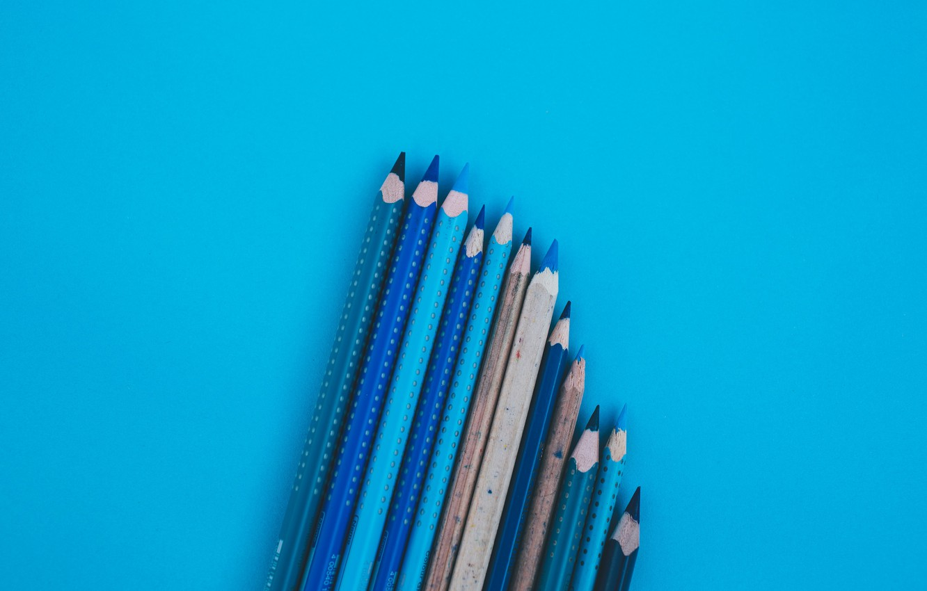 Photo wallpaper Minimalism, Background, In pencil