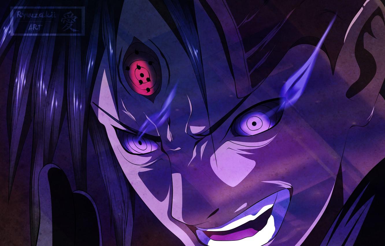 Photo wallpaper eyes, Naruto, Naruto, Madara Uchiha