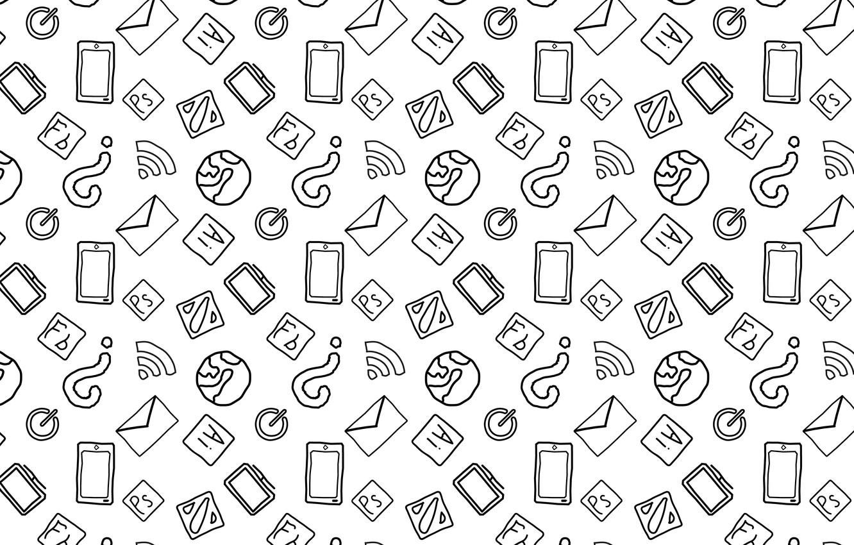 Photo wallpaper world, minimal, white, dota, black, minimalism, photoshop, icon, illustrator, smartphone, monitor, illustration, wife, mail, power …