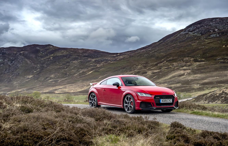 Photo wallpaper red, Audi, RS, TT, 2019