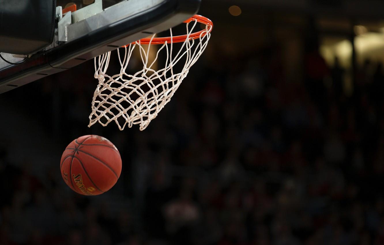 Photo wallpaper basket, the ball, ring, shield, basketball, basketball