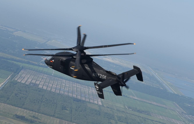 Photo wallpaper Helicopter, Lockheed Martin, Raider, S-97