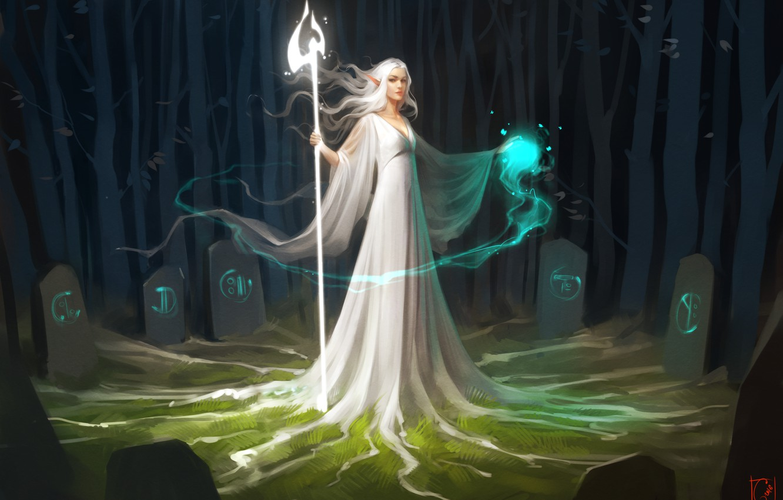 Fantasy Runes Art