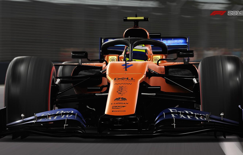 Wallpaper track, racing car, F1 2019, Mclaren MCL34 images ...