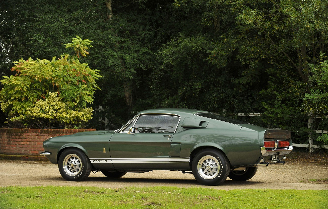 Photo wallpaper Ford Mustang, 1967, Muscle Car, Shelby GT350