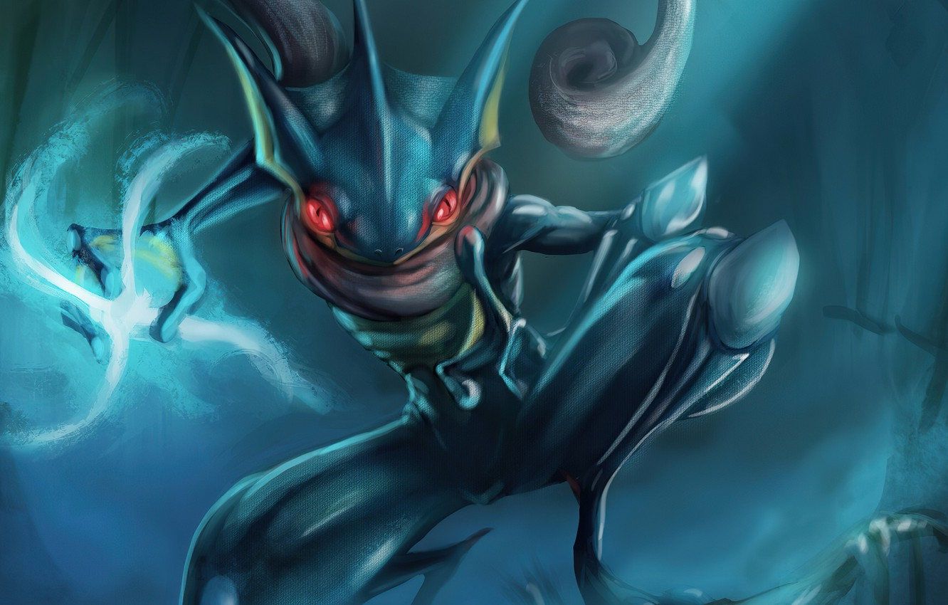 Photo wallpaper Pokemon, Pokemon, Greninja