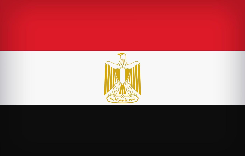 Photo wallpaper Egypt, Flag, Egyptian, Egyptian Flag, Flag Of Egypt