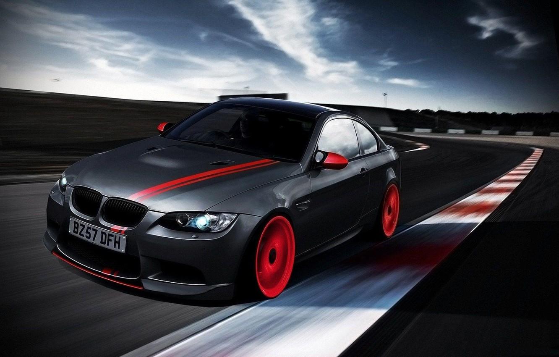 Photo wallpaper road, bmw, BMW, speed, car