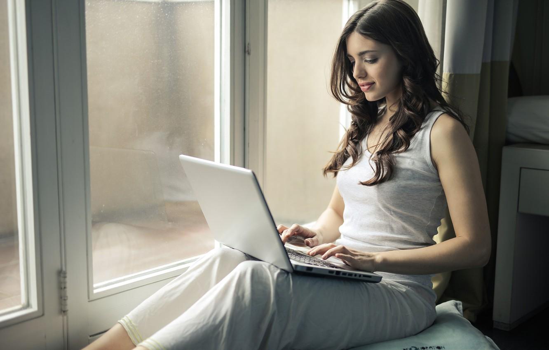 Wallpaper Girl Hair Window Laptop Images For Desktop Section Devushki Download