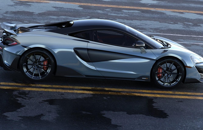 Photo wallpaper McLaren, Machine, Car, Auto, Render, Rendering, Supercar, Sports car, Sportcar, Transport & Vehicles, McLaren 600LT, …