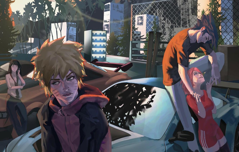 Wallpaper Naruto Naruto Sasuke Uchiha Uzumaki Naruto Haruno