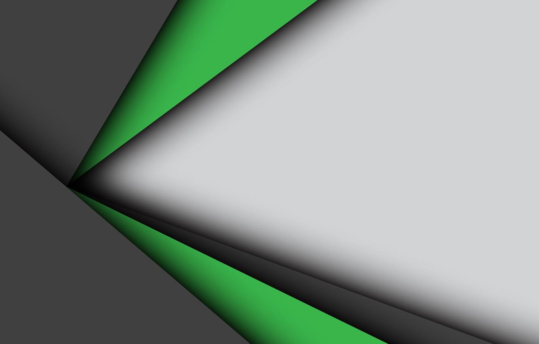 Wallpaper white, line, green, background, geometry ...