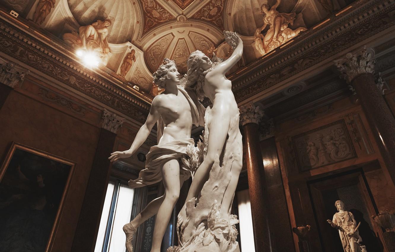 Photo wallpaper Rome, architecture, statues