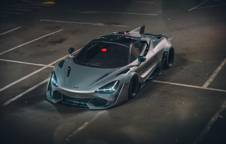 Photo wallpaper McLaren, Auto, Machine, Supercar, Rendering, Concept Art, Khyzyl Saleem, by Khyzyl Saleem, 720S, McLaren 720S, …