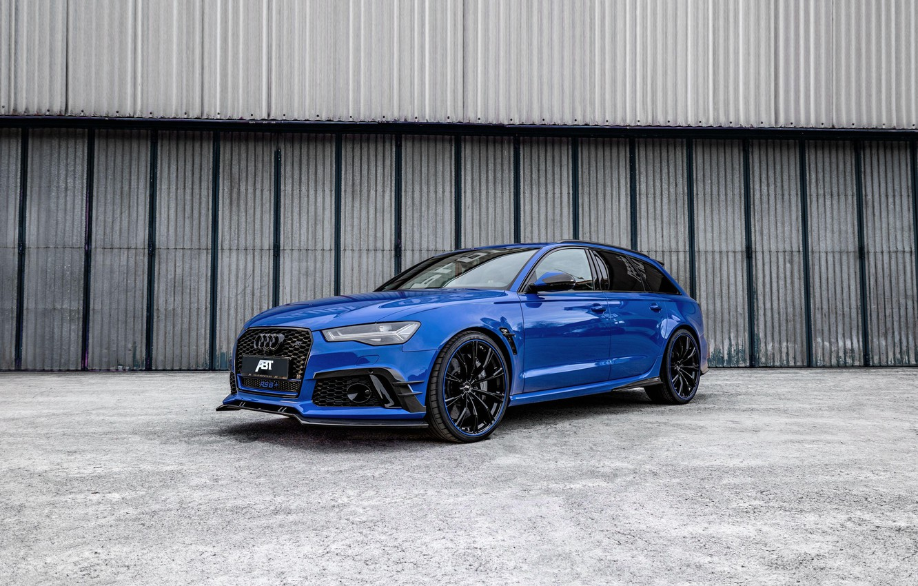 Photo wallpaper Audi, 2018, ABBOT, RS6, Nogaro Edition, Audi RS6 Nogaro Edition by ABT 2018