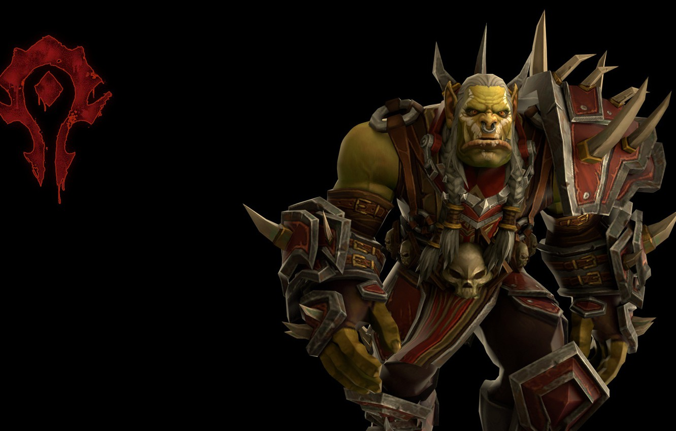 Wallpaper Orc World Of Warcraft Orc Horde Horde The Battle