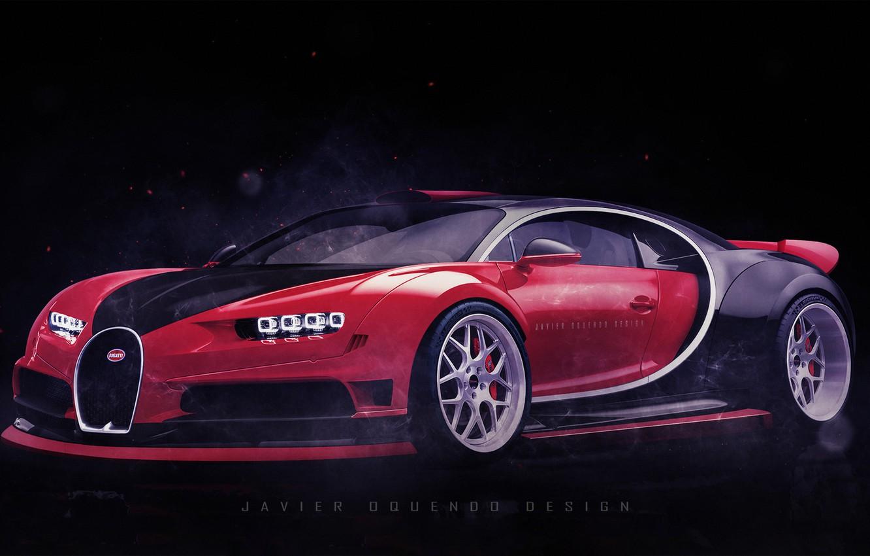 Photo wallpaper Auto, Machine, Bugatti, Supercar, Bugatti Chiron, Transport & Vehicles, Javier Oquendo, by Javier Oquendo