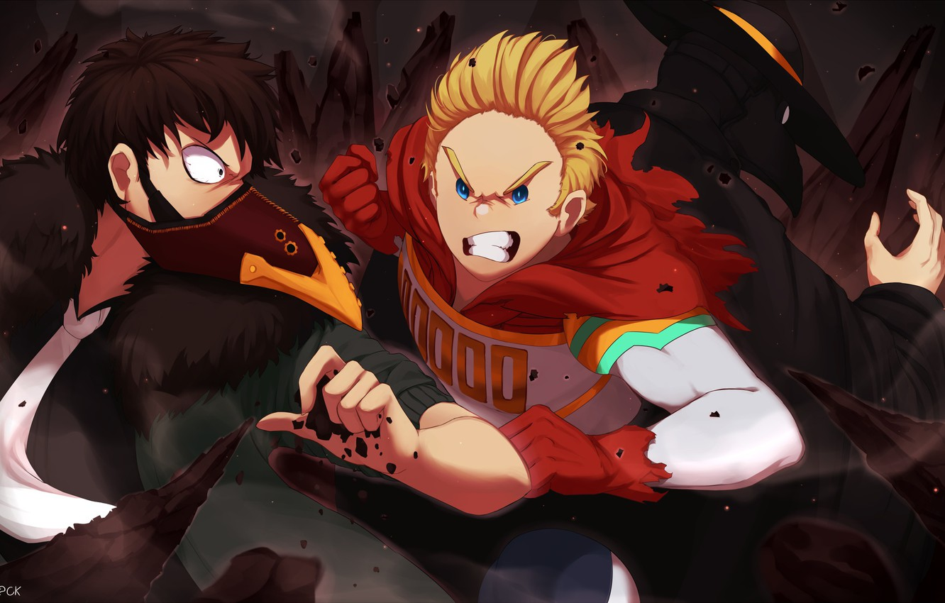 Wallpaper Hero Villains Boku No Hero Academy My Hero Academy