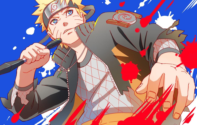 Photo wallpaper anime, guy, Naruto, Naruto, Uzumaki Naruto