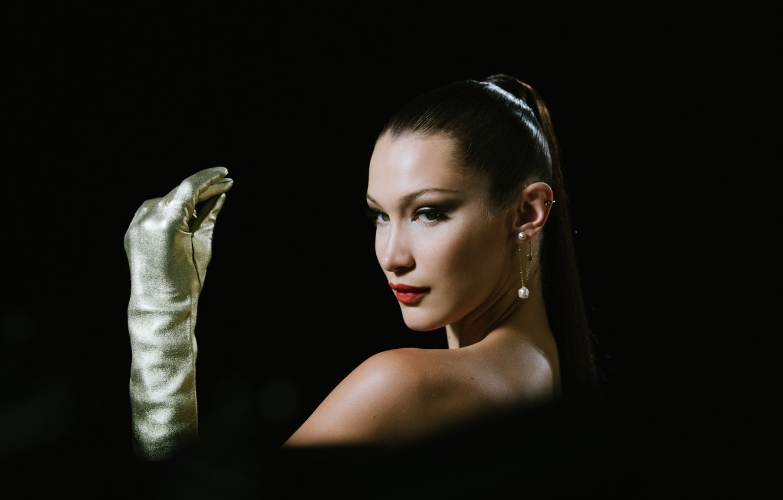 Photo wallpaper model, portrait, Bella Hadid