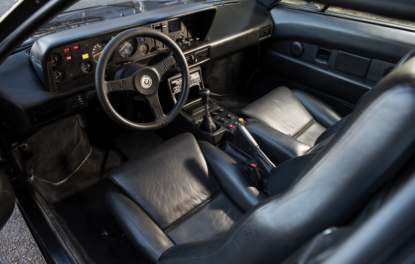 Photo wallpaper interior, BMW, BMW M1, E26, M1