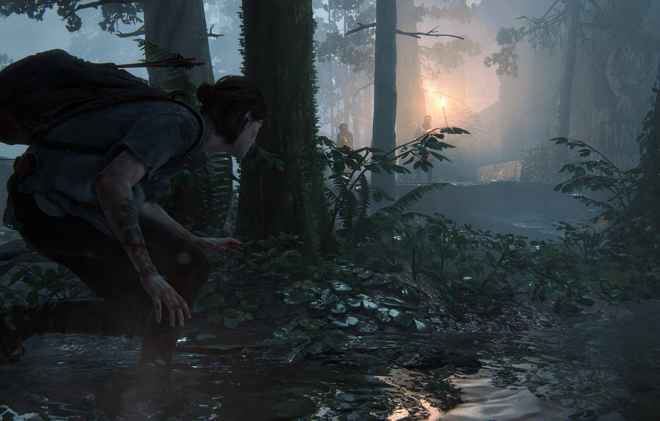 Photo wallpaper Ellie, Game, The Last of Us, Naughty Dog, Ellie, Some of Us, Sony Computer Entertainmen, …